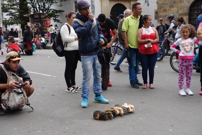 Pedestrian walkway, La Candelaria, Bogotá