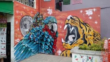 Street art, Comuna 13